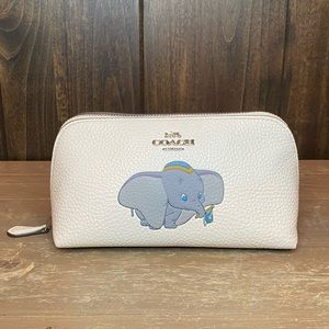 Coach Bags - NWT Authentic Disney X Coach Dumbo Cosmetic Case